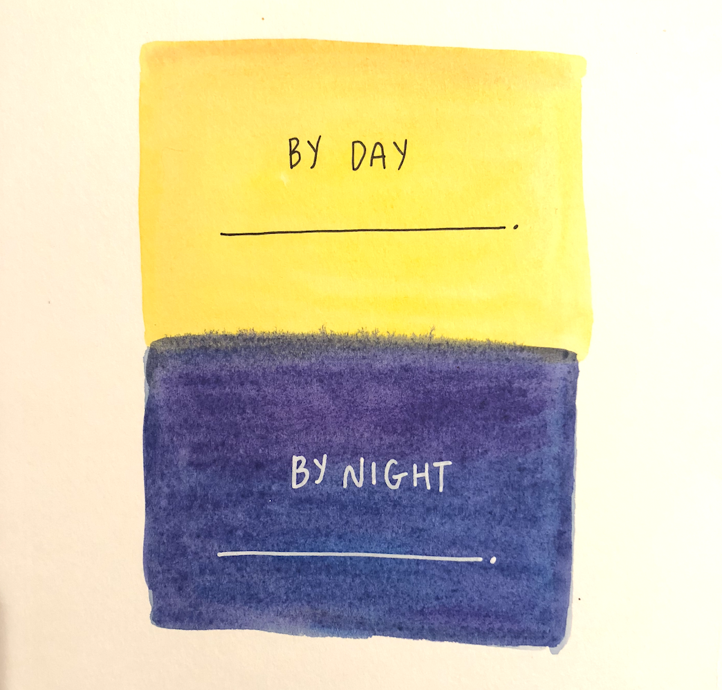 By day, by night mad libs